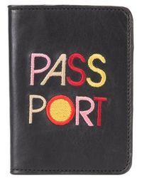 Lizzie Fortunato - Passport Case - Lyst