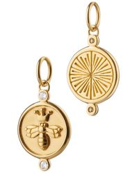 Monica Rich Kosann - Queen Bee Charm With Diamonds - Lyst