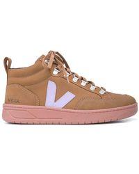 Veja Roraima High Top Sneaker - Brown