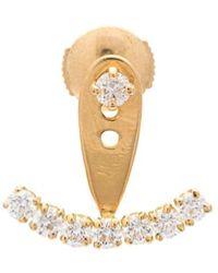 Yvonne Léon Diamond Stud Earring - Metallic