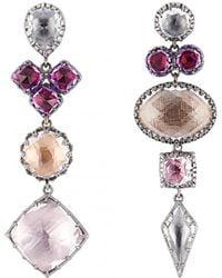 Larkspur & Hawk - Sadie Mis-matched Convertible Earrings - Lyst