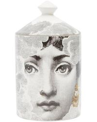 Fornasetti Nuvola Scented Candle - White