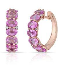 Anne Sisteron Ameka Earrings - Pink