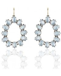 Larkspur & Hawk - Caterina Small Frame Earring - Lyst