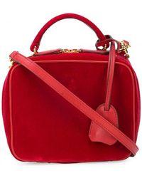 Mark Cross - Small Velvet Tote Bag - Lyst