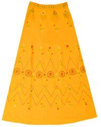 Le Sirenuse Camille Skirt - Orange