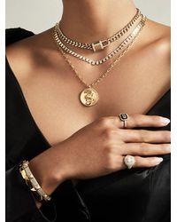 Anne Sisteron Diamond Lovelock Necklace - Metallic