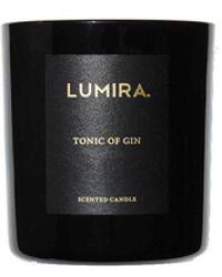 Lumira Gin-scented Candle - Black