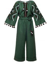 My Sleeping Gypsy Gia Jumpsuit - Green