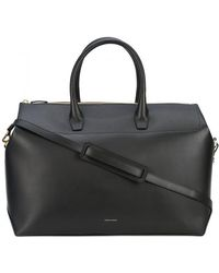Mansur Gavriel Strapped Travel Bag - Black