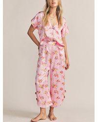 Morgan Lane Joanie Margo Pyjama Set - Pink