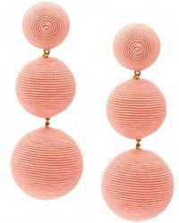 Rebecca de Ravenel - Classic 3 Drop Earring - Lyst