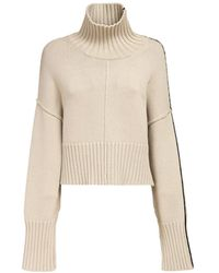 Peter Do Cropped Turtleneck Sweater - Natural