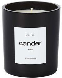 CANDER PARIS Scent 01 Candle - Black