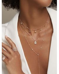 Anne Sisteron Diamond Evangeline Necklace - Metallic