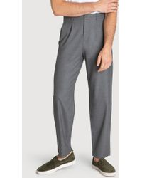 935fd9ea Kit and Ace Bidwell Navy Pants in Blue for Men - Lyst