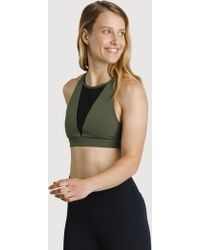 Kit and Ace The Base High Neck Bra - Multicolour