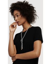 Kit and Ace Iconic Twisted Lapis Necklace - Black