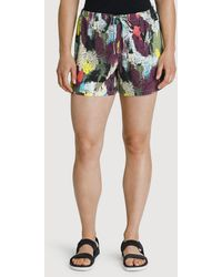 Kit and Ace Bike To Office Silk Short - Multicolor