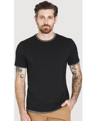 Kit and Ace Ace Reversible Short Sleeve - Black