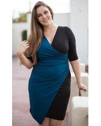 Kiyonna - Sara Cinch Dress - Lyst