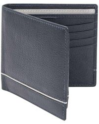 Dents Smooth Two Tone Removable Pass Holder And Rfid Blocking Wallet - Multicolor