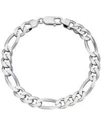 Beginnings Heavyweight Figaro Bracelet - Metallic