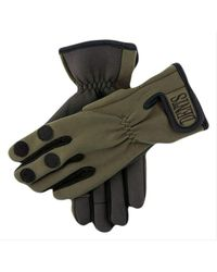 Dents Colt Neoprene Shooting Gloves - Green