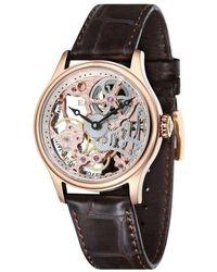 Thomas Earnshaw The Bauer Mechanical Skeleton Watch - Multicolour