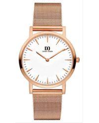 Danish Design Urban London Watch - Metallic