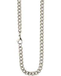 Ti2 Titanium Curb Chain - Metallic