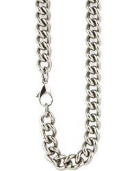 Ti2 Titanium Chunky Curb Chain - Metallic
