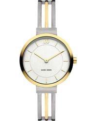 Danish Design Tiara Stripe Watch - Metallic