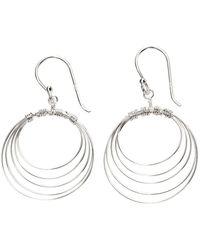 Beginnings - Multi Circle Wire Earrings - Lyst