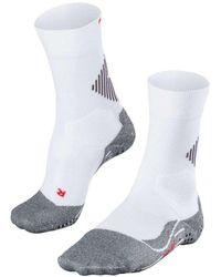 FALKE 4 Grip Stabilizing Socks - White
