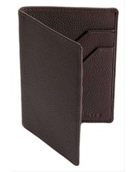 Dents Rfid Blocking Protection Pebble Grain Leather Passport Holder - Multicolor