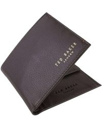 Ted Baker Harvys Bifold And Coin Wallet - Multicolour