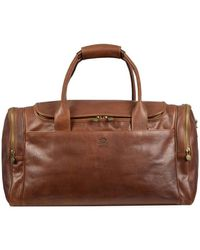 Time Resistance Guide To The Galaxy Duffel Bag - Brown