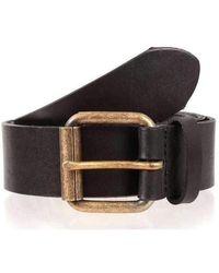 Dents Casual Leather Belt - Black