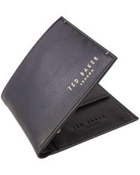 Ted Baker Harvys Bifold And Coin Wallet - Multicolor