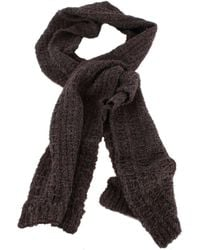 Bassin and Brown Gibson Plain Texture Scarf - Multicolour