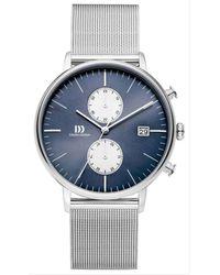 Danish Design Tidlos Koltur Chrono Watch - Metallic