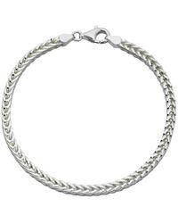 Beginnings Heavyweight Foxtail Chain Bracelet - Metallic