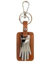 Dents Glove Key Ring - Metallic