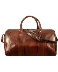 Time Resistance Wise Duffel Bag - Brown