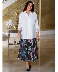 m. collection Blouse - Wit