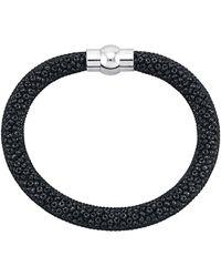 Golden Style Mesharmband - Zwart