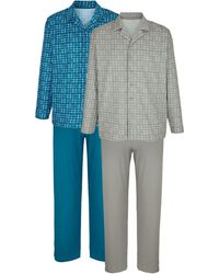 G Gregory Pyjama's - Blauw