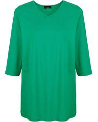 MIAMODA Shirt - Groen