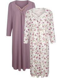 Harmony Nachthemd - Paars